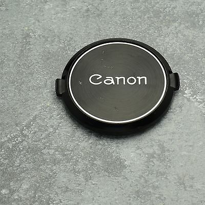 Genuine Canon FD C 55mm Snap-On Front Lens Cap S.C. S.S.C. Throwback  (#1336)