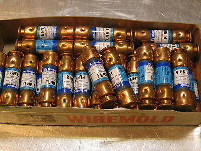 "4 Never Used 2""Fuses #FLNR5  LITTELFUSE  Time Delay  5 amp."