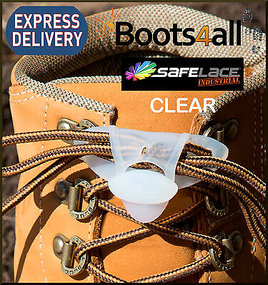 Safe Lace Clear Lock Your Laces In Place Sports/School/Work