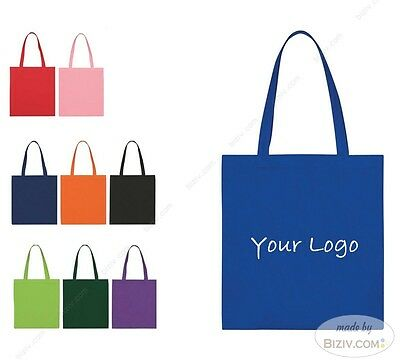 Sample: Customized Non Woven Bags Shopping Carrier Personalized Tote Bag LOGO