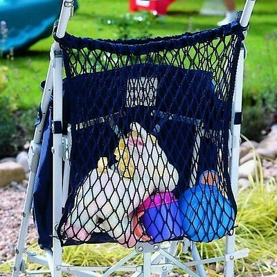 Stroller/Buggy Shopping Bag/ Storage Net fits all prams,strollers uk product