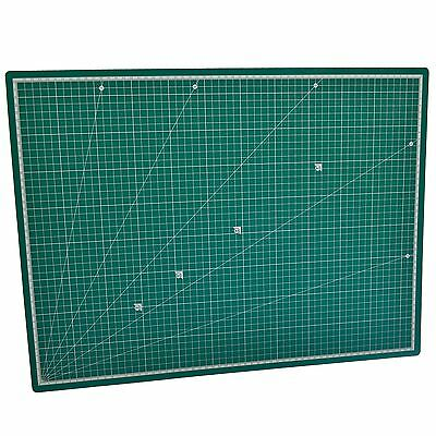 A2 Self Healing Cutting Mat Non Slip Printed Grid Line Knife Board IRE TE338