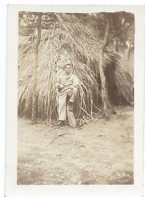 Lot of 7 Photos - Taken by GI in New Guinea in WW2 - Biak Lot B