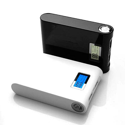 Power Bank 11200 Mah Con Luz Led Y Muestra De Carga