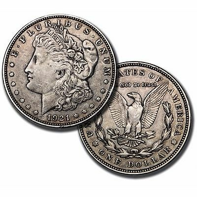 Morgan Silver Dollar (1921 Only)  VG/AU