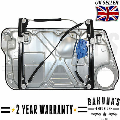 Vw New Beetle 98>2010 Hatch Front Left Side Electric Window Regulator With Panel