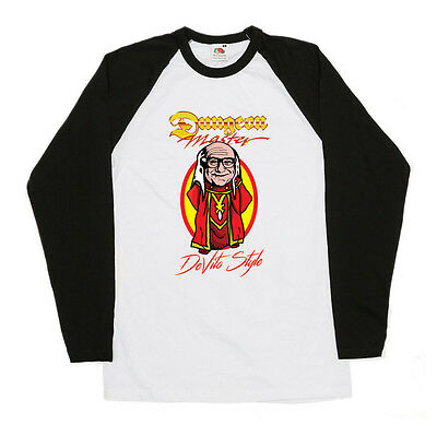 Dungeon Master DeVito Style Inspired Baseball Shirt Dungeons and Dragons Geek