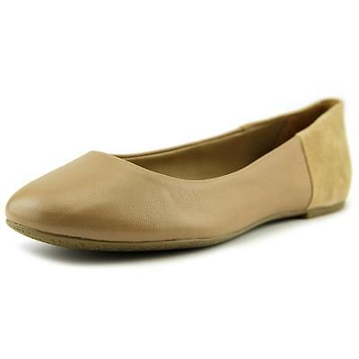 Tkees Raleigh   Round Toe Leather  Ballet Flats