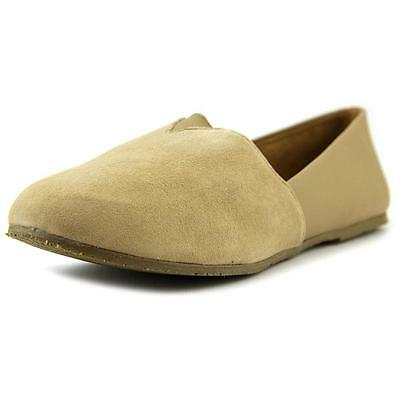 Tkees Senny Women  Round Toe Leather Nude Loafer