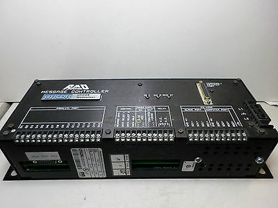 UTICOR -- PROGRAMMABLE MESSAGE DISPLAY -- PMD300 -- Part No 76571-16 115/230AC