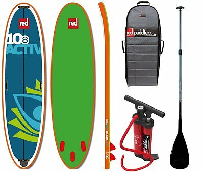 Red Paddle Set 10.8' U SUP hinchable Stand Up Surf Paddle Board con Pa