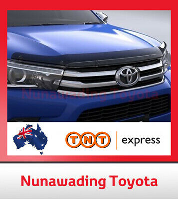 Genuine Toyota New Hilux Sep 2015 Onward Bonnet Protector Tinted All Models
