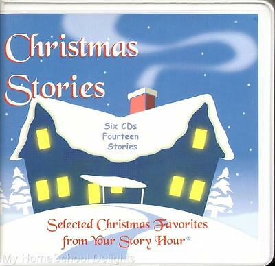 new your story hour christmas stories 6 cd collection of 14 christian favorites