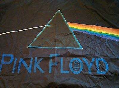 """Pink Floyd """"The Dark Side of the Moon"""" Poster/Flag 1997 100% polyester Italy"""