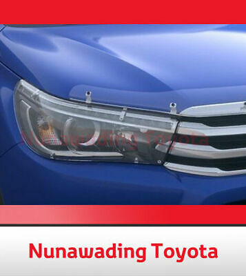Genuine Toyota New Hilux Sr5 Led Type Sep 2015 Onward Headlamp Headlight Covers