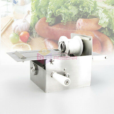NEW 32MM Manual Binding Machine Hand-Rolling Sausage Tying & Knotting Machine