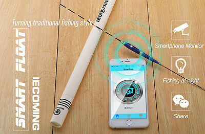 New Smart Noctilucent Fishing Float Bluetooth 4.0 Monitor Smart Alarm Outdoor