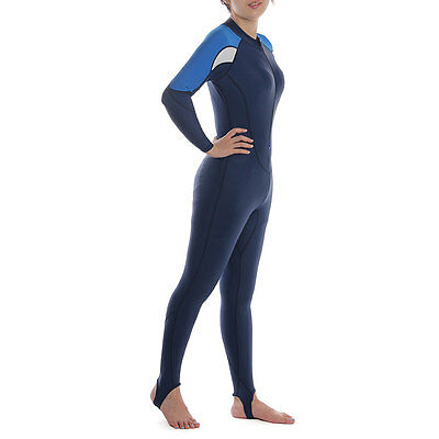 Kid's Water Sports Scuba Diving Swimming Fullsuit Wetsuit Sun Protection M