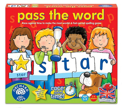 Orchard Toys Pass The Word Spelling Game Teaching Resource Educational Children