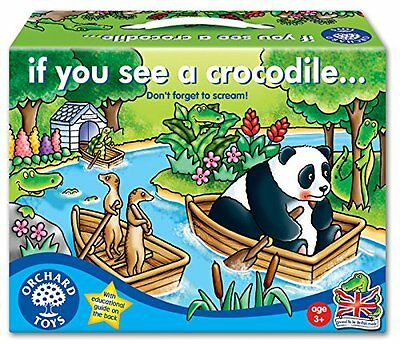 Orchard Toys If You See A Crocodile Games Educational Game Children Fun Learning