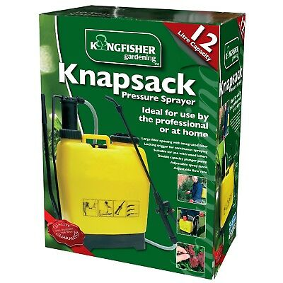 Kingfisher 12L Backpack Sprayer Comfortable Shoulder Strap With Wand Hose New