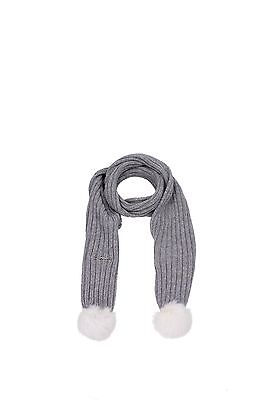 Foulards & Scarves Armani Junior Kids Viscose Gray ZE402GRIGIO