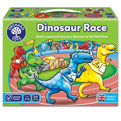 Orchard Toys Dinosaur Race Number Counting Educational Games