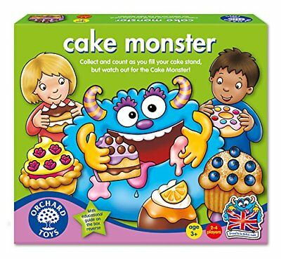 Orchard Toys CAKE MONSTER Number Memory Matching Learning Game