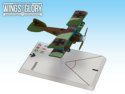 Wings of Glory: Albatros D. II Von Richthofen AGS WGF114B