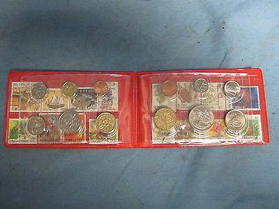 Singapore/Malaysia Book Of Coins And Stamps 1993-2000