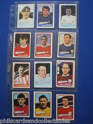 A&BC - Footballers ( Yellow ) Bubblegum Cards * Choose The One's You Need * 1968