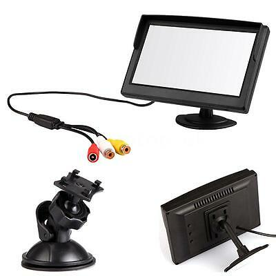 """5"""" Color TFT LCD Vehicle Car Reverse Monitor For Rearview Camera DVD VCD V7V7"""