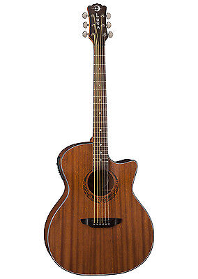 Luna 6 String Gypsy Series Grand Concert Wood ElectroAcoustic Guitar - Satin