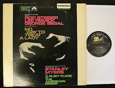 OST Rod Steiger Lee Remick George Segal No Way To Treat A Lady MONO Dot 25846