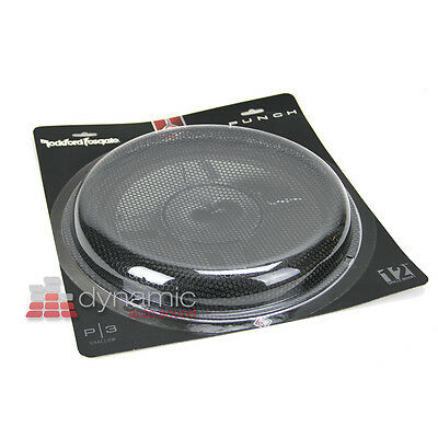"RockFord Fosgate P3SG-12 Subwoofer 12"" Shallow Stamped Sub Mesh Grille Insert"