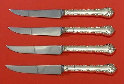 Kings Court by Frank Whiting Sterling Silver Steak Knife Set 4pc HHWS  Custom