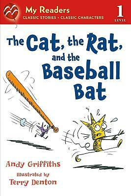 The Cat, the Rat, and the Baseball Bat by Andy Griffiths (English) Paperback Boo