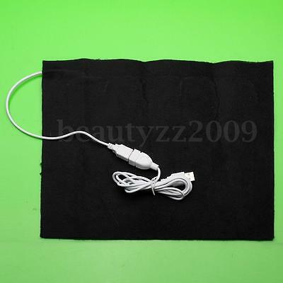 5V USB Electric Cloth Heater Pad Heating Element for Pet Belt Warmer 50℃
