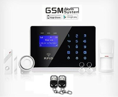 GSM Funk Alarmanlage Komplettset - Home Security System M2FX - Smart Phone APP
