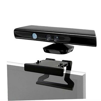 TV Clip Mount Mounting Stand Holder for Microsoft Xbox 360 Kinect Sensor EY