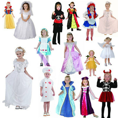 Girls Kids World Book Day School Fancy Dress Toddlers Costumes Age 4 Yrs Toddler