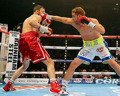 BILLY JOE SAUNDERS 01 v ANDY LEE (BOXING) PHOTO PRINT