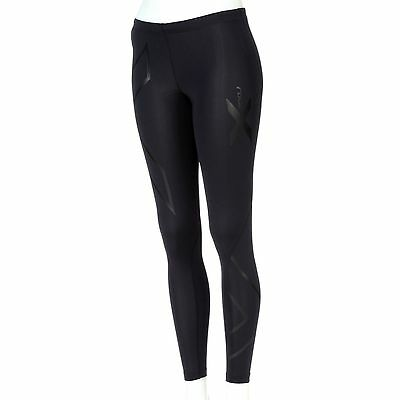 2XU Women's Recovery Compression Tights-Black/Black-SMALL-Running/Exercise-NEW