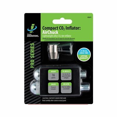 Genuine Innovations Air Chuck Elite Inflator & Cartridges Combo-New