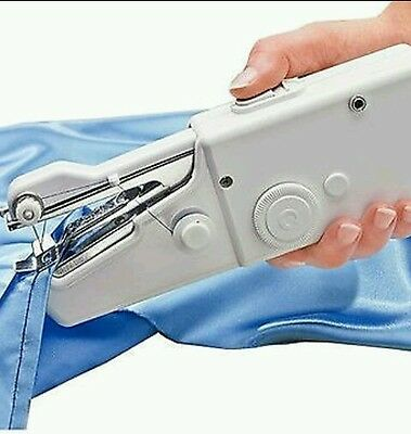 Professional Portable Cordless Handheld Single Stitch Fabric Sewing Machine Home