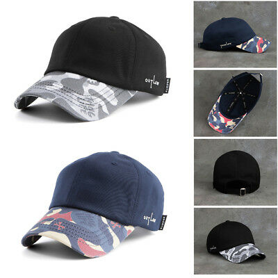 Unisex Mens 2Pac Flipper Thug Life Out Law Camouflage Baseball Cap Hip-hop Hats