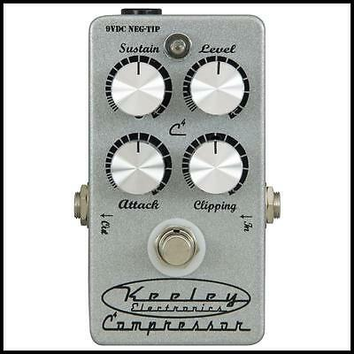 Keeley Electronics C4 4-Knob Compressor Guitar Effects Pedal Keeley-COMP