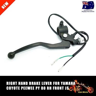 Right Front Hand Brake Lever For Yamaha Peewee Pw80 Py80 Coyote Jianshe Loncin