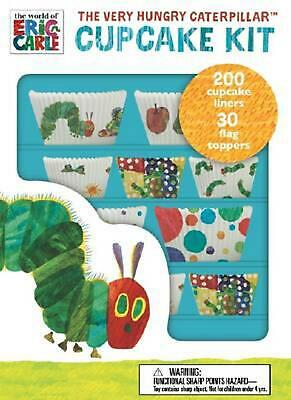 The Very Hungry Caterpillar Cupcake Kit Novelty Book Free Shipping!