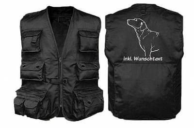 HUNDESPORT WESTE - Outdoor-Weste mit Dummytasche: Chesapeake Bay Retriever